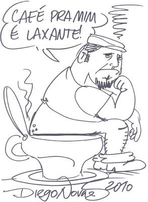 caricatura manohead por diego novaes