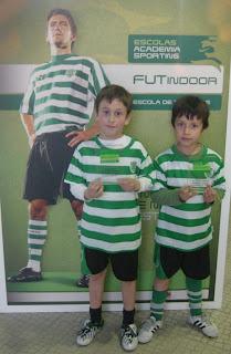 Gonçalo Santos e Eric Silva