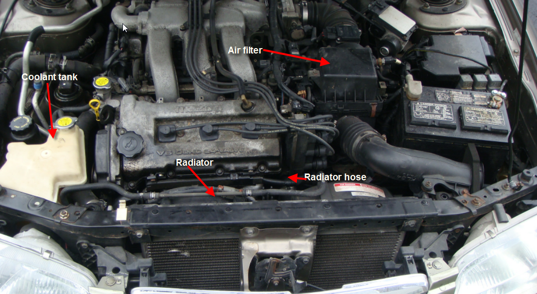 Auto Repairs And Hydraulic Troubleshooting Replacing Thermostat On Rhsatyadev101blogspot: 1999 Mazda 626 Thermostat Location At Elf-jo.com