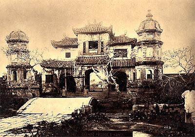 Pagode Chua Bao An d'Hanoi détruite pour construction la cathédrale Saint Joseph