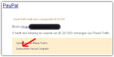 Payout Donkeymails
