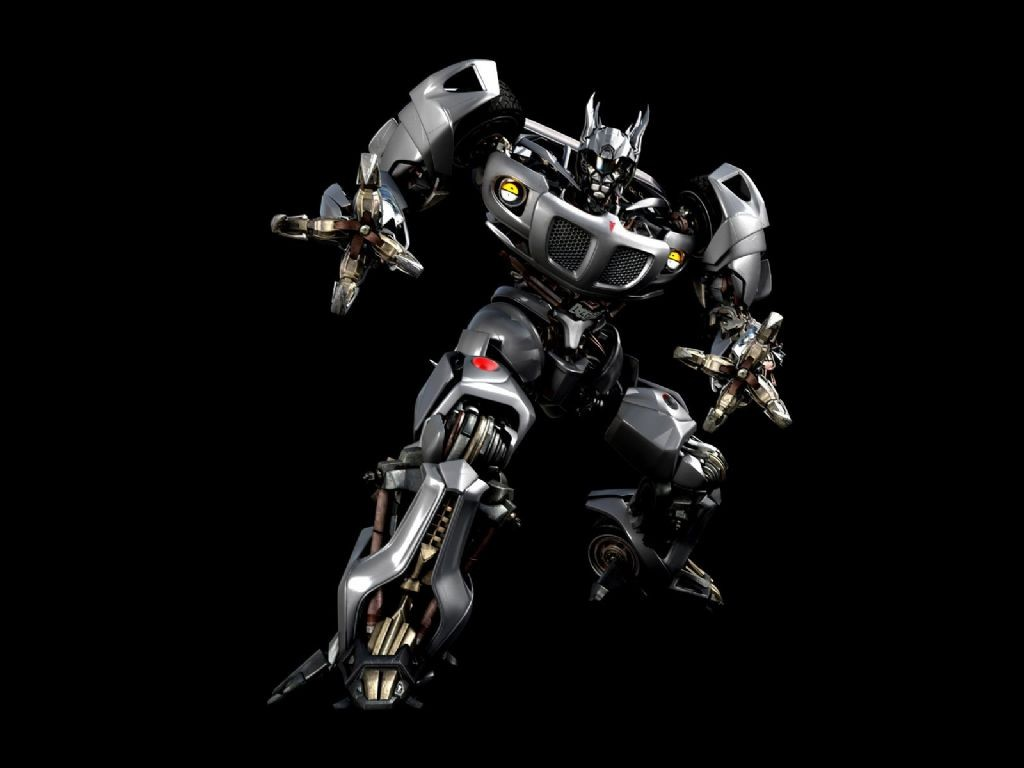 Transformers Silver Black Dop. transformers wallpaper