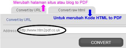 merubah HTML to PDF,HTML2PDF Converter
