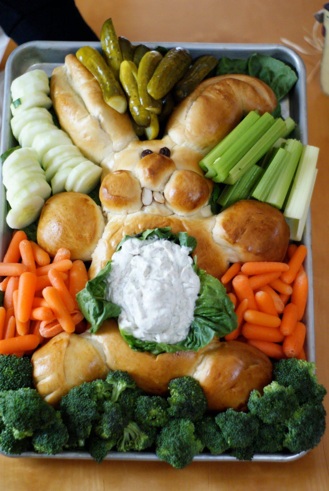 the little green bean: Easter Bunny Bread