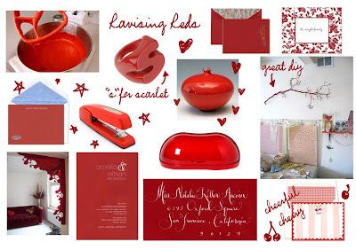 Red V B Lue Cake