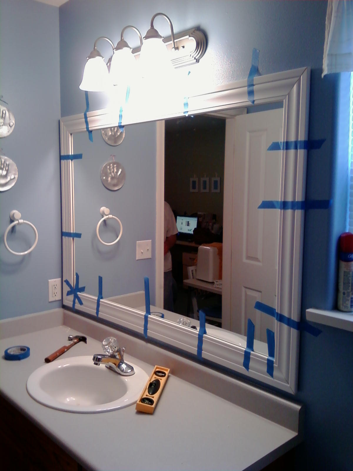 Innovative Framed Bathroom Mirrors Designs Ideas Pictures To Pin On Pinterest
