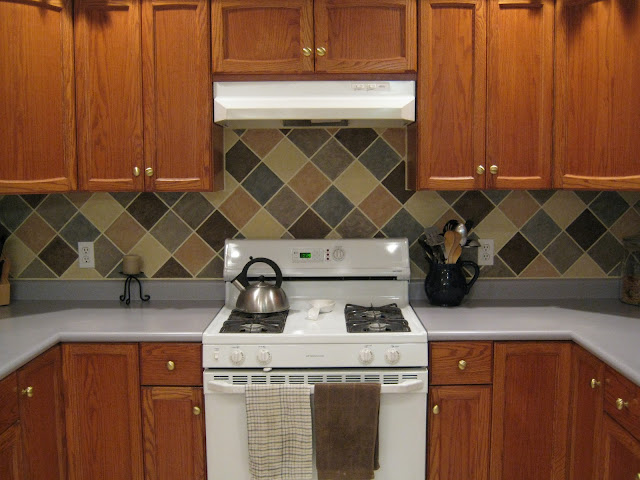 The fascinating Cheap kitchen backsplash ideas blue image