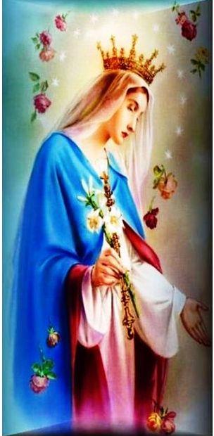 Kraljica Neba sa ružama