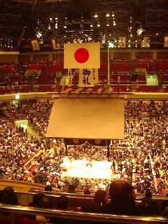 Sumo at Ryogoku