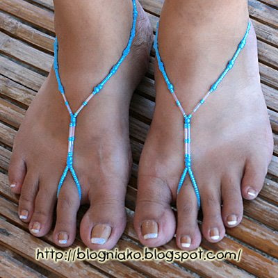Barefoot Sandals/ Foot thongs | Blog ni ako