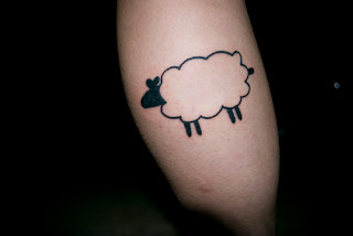 tumblr sheep tattoo design