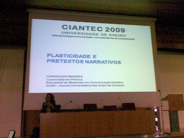 """CONGRESSO """"CIANTEC'09"""""""