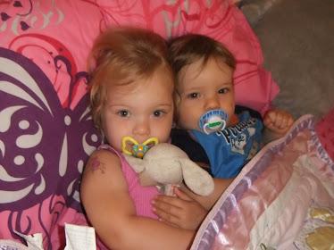 My daughter Alyssa and son Alex