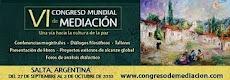 VI Congresso Mundial de Mediação em Salta na Argentina