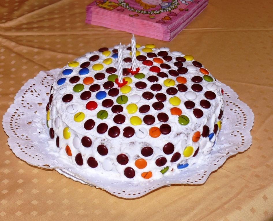 Cocinando en el mundo tarta de cumplea os ii a os - Cumpleanos dos anos ...