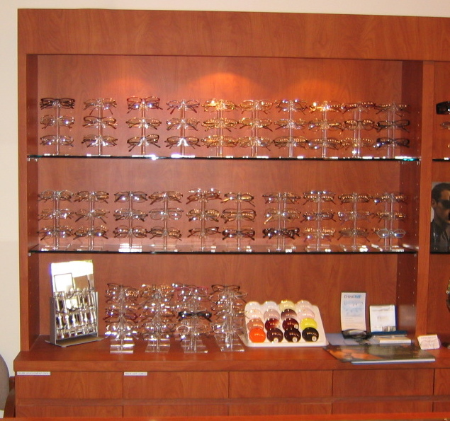 optometric office design ideas design blunders display background