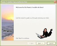Presto Transfer Windows Live Messenger