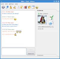 KMess - MSN Messenger Client for Linux