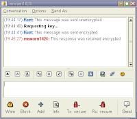 Pidgin Encryption Plugin