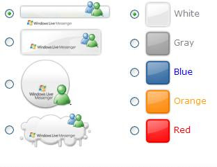 Create Windows Live Messenger Buttons