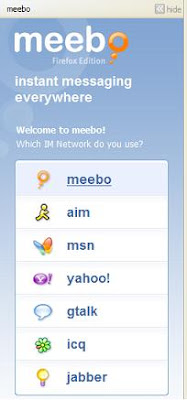 Meebo Firefox Add-on