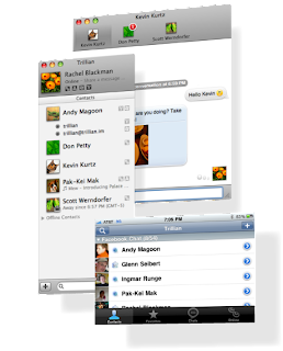 Trillian for Mac Screenshot