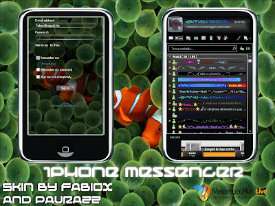 iPhone SKin for Windows Live Messenger 8.5