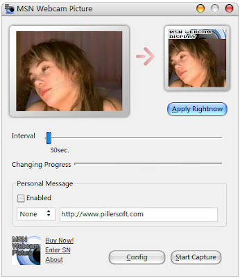 MSN Webcam Picture Screenshot
