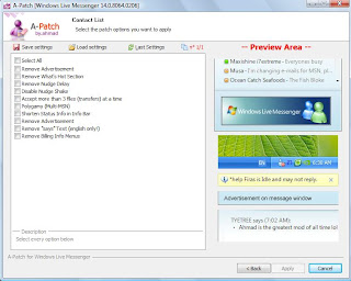 A-Patch for Windows Live Messenger 9 Build 14.0.8064.0206 Now Avaliable