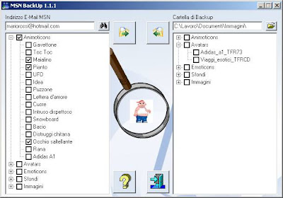 MSN BackUp Now Supports Windows Live Messenger 2009