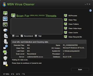 MSN Virus Cleaner - Remove MSN & WLM Threats