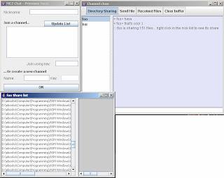 MC2 Multicast Chat Screenshot