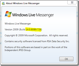 WLM Users Will Be Required to Upgrade to Messenger 14.0.8089