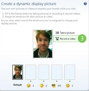 Create Dynamic Display Picture Using Webcam for Windows Live Messenger