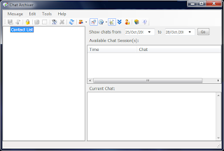 Archive Windows Messenger Conversations - Chat Archiver
