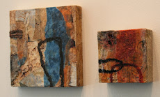 Encaustic Collage at Bosque Gallery, Cypress, TX