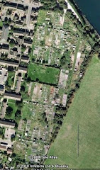 Areal view of Burnside allotments