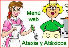 """Menú """"Ataxia y atáxicos"""""""