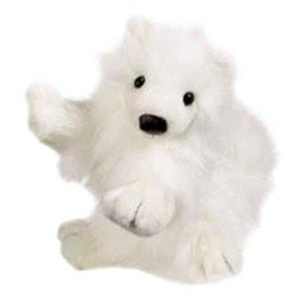 Webkinz Samoyed Dog