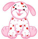 LOVE PUPPY WEBKINZ