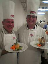Chef Arriaga y Chef Martinez