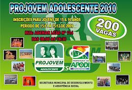 PROJOVEM ADOLESCENTE 2010
