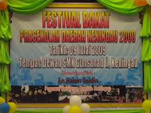 Backdrop Festival Bakat Prasekolah 2009