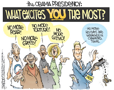 recent obama political cartoons. Political Cartoon is by John