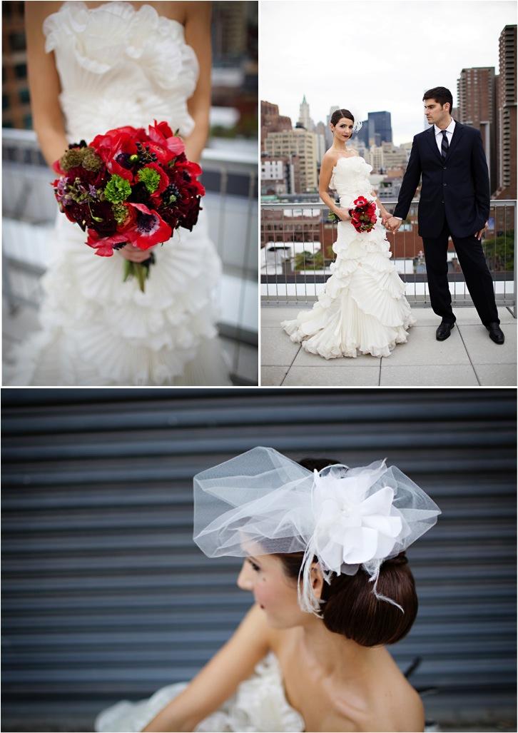 Wedding Inspiration Spanish Modern Style In Tribeca