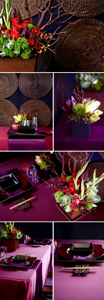 mood events asian wedding tablescape merci new york