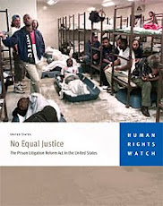 Human Rights Watch Report: No Equal Justice
