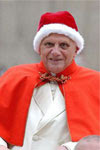 """Benedicto XVI """"dando ejemplo"""""""