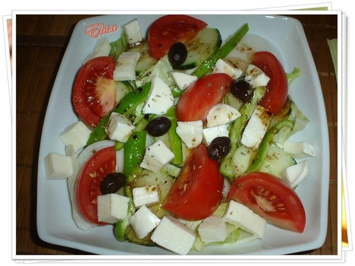 Cocina facil rapida y sana ensalada griega toda for Cocina facil y rapida
