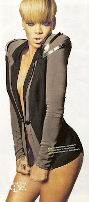 Rihanna In Australia Sunday Magazine Scans